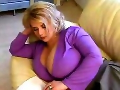 Luscious MILF Close to Giant Tits.