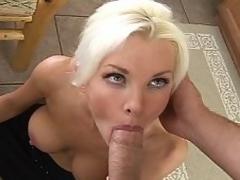 Blue eyed blonde hot teacher