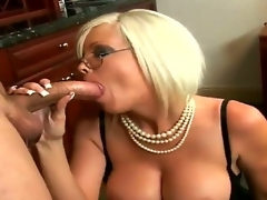 Wicked secretary Jordan Jolie pleases her boss Sergio with a hawt and spicy blowjob session in office