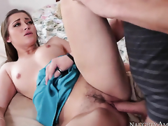 Lustful playgirl Dani Daniels with juicy booty finds herself getting penetrated by Xander Corvus