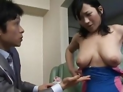 Japanese Mommy Enticed By Salesman - Cireman