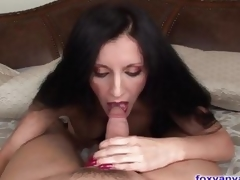 Beautiful MILF Sucks And Slips On a massive Jock