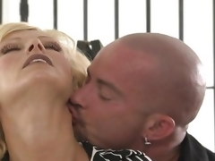 MILF with large love bubbles getting shafted