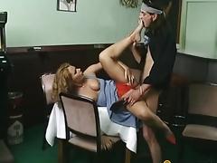 Fellow bonks slut in her vagina