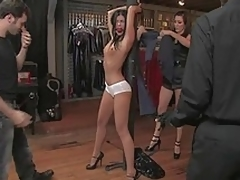 Long legged India Summer acquires punished