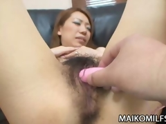Unshaved Juicy crack Japanese MILF Sex