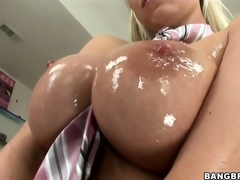 Sweet, oiled up titties and juicy pussy make this Hungarian ultra lascivious