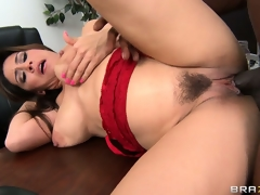 Dean Raylene sucks on his joint and then receives it fur pie injected