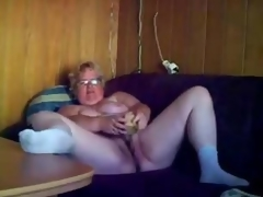 Estimable masturbation be worthwhile for randy granny