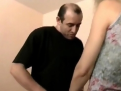 Cougar flaxen-haired gets fucked in stockings