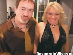 Sexy Blonde Floozy Wife Jackie Intermingle Cram