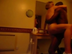 she is cuckold fucked off out of one's mind a black dude unending