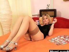 Superb blond amateur milf prankish time pellicle
