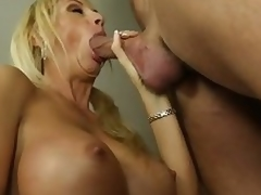 Buxom milf Brooke Tyler having sex with hawt lad