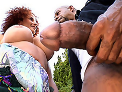 Diesel's Big Chunk For Joslyn's Throat
