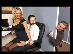 Tanya is in love with her co-worker Pete and tries to hook up with him each chance this chick gets. The merely problem is TJ, the knob blocker of the office will at no time let him have her.
